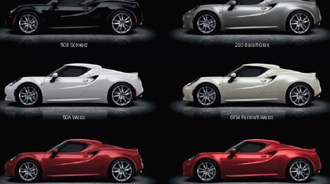 Alfa Romeo 4C Verkaufsprospekt