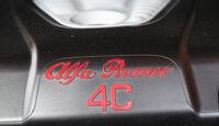 Alfa Romeo 4C, Ziernaht, Typenbezeichnung