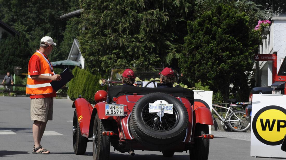 Alfa Romeo 6c bei Wertungsprüfung - Silvretta Classic 2010
