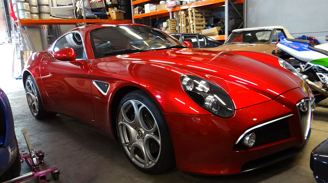 Alfa Romeo 8C - Garage Gerard Lopez 2013