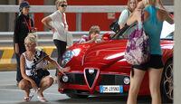 Alfa Romeo 8C mit Models
