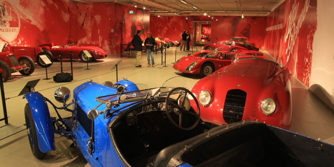 Alfa Romeo, Ferrari und Maserati