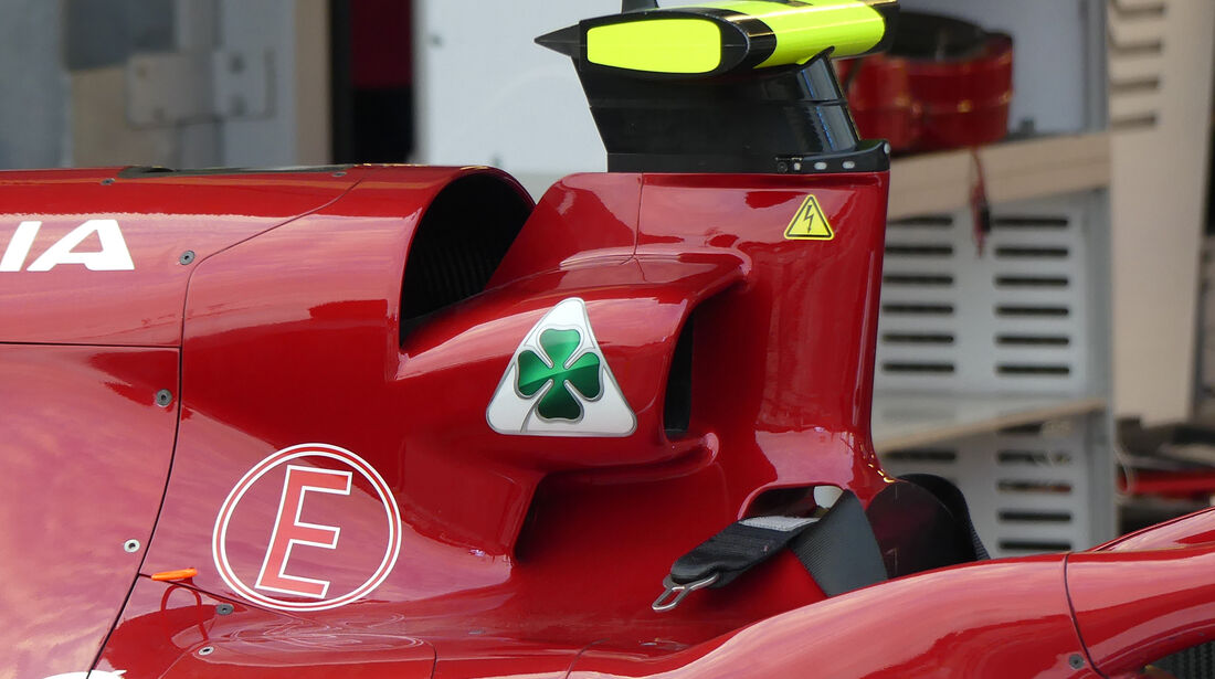 Alfa Romeo - Formel 1 - GP Aserbaidschan - Baku - 25. April 2019