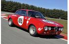 Alfa Romeo GTAm, Frontansicht