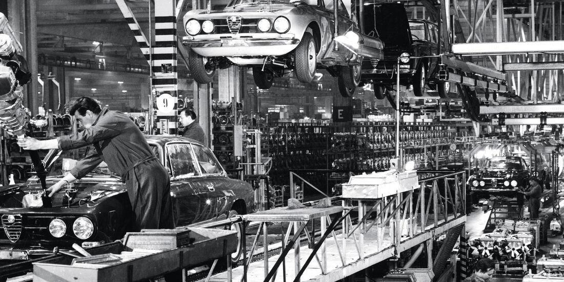 Alfa Romeo Giulia, Alfa-Werk, Arese