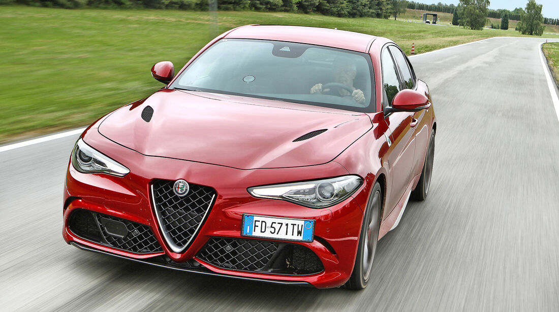 Alfa Romeo Giulia Quadrifoglio - Serie - Limousinen bis 100000 Euro - sport auto Award 2019