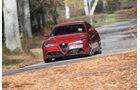 Alfa Romeo Giulia Quadrioglio, Frontansicht