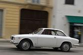 Alfa Romeo Giulia Sprint GT, Seitenansicht