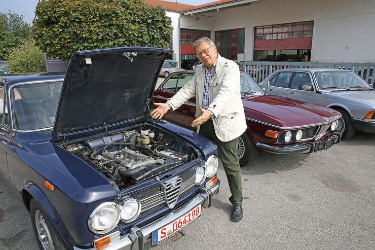 Alfa Romeo Giulia Super, Motor