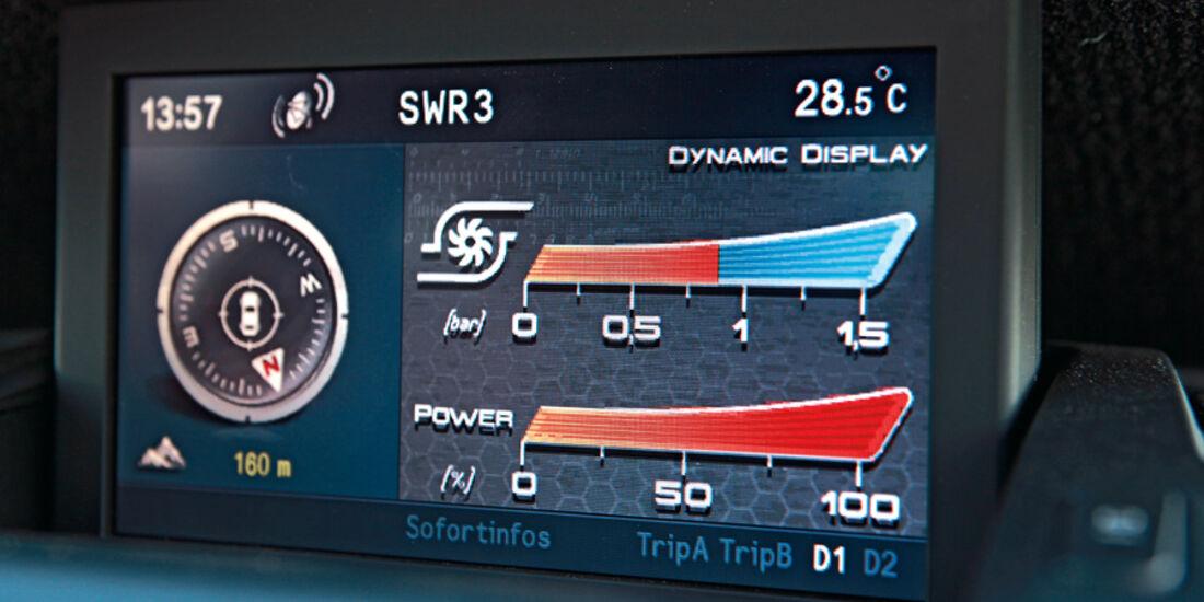 Alfa Romeo Giulietta 1.4 16V, Bildschirm, Anzeige