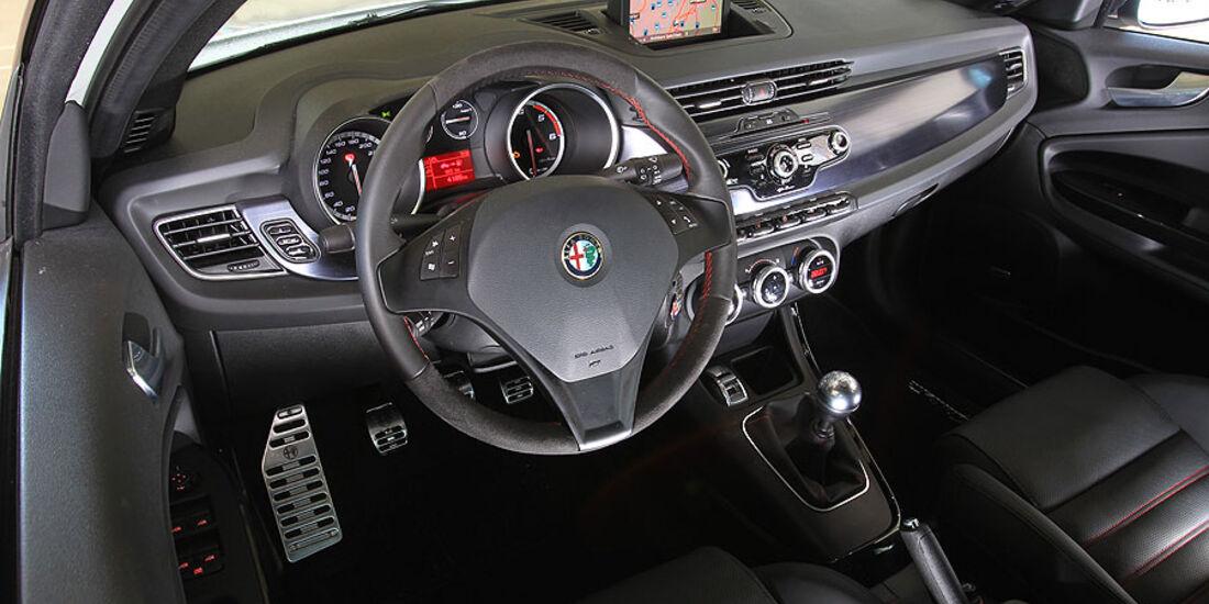 Alfa Romeo Giulietta Innenraum