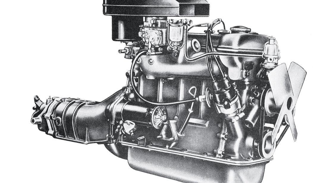 Alfa Romeo Giulietta Sprint Veloce, Motor, Grafik