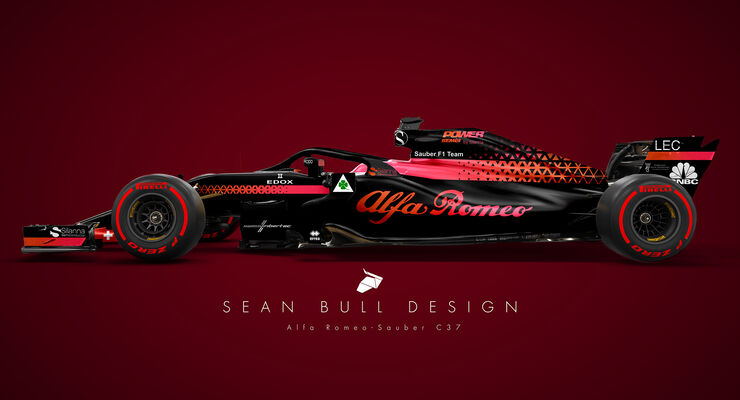 alfa romeo feiert f1 comeback alfa wird titelsponsor von sauber auto motor und sport. Black Bedroom Furniture Sets. Home Design Ideas