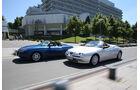Alfa Romeo Spider 2.0 TS, Fiat Barchetta, Seitenansicht