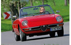Alfa Romeo Spider Fastback, Frontansicht