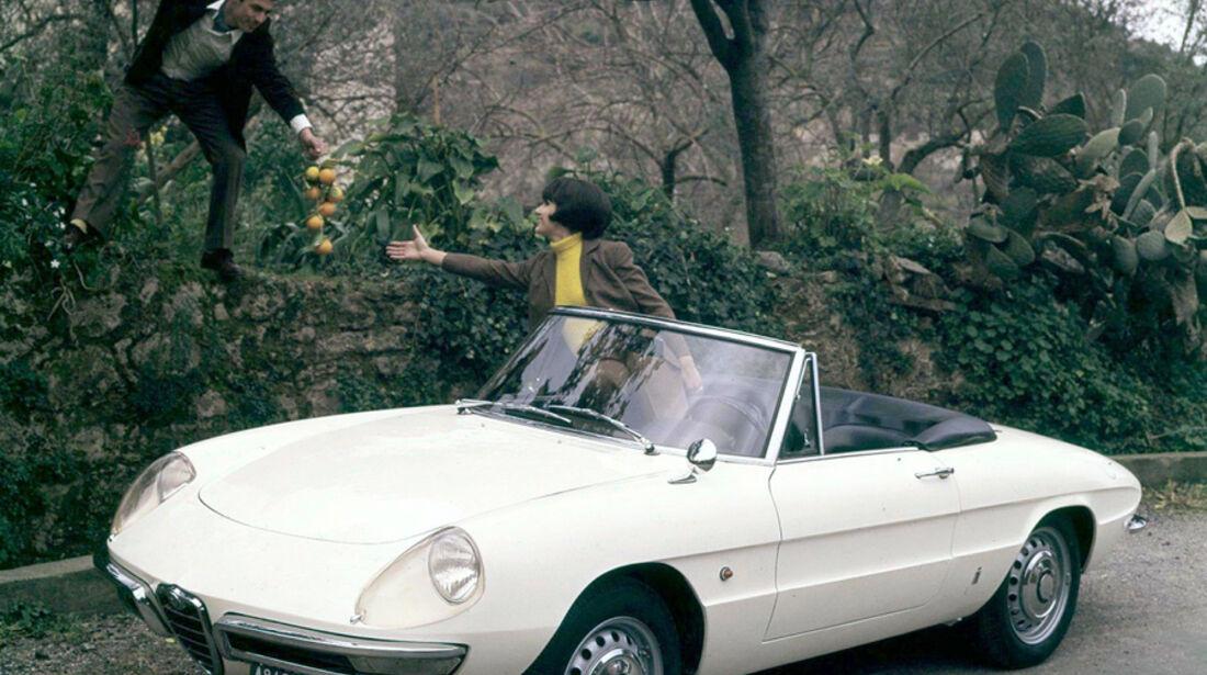 """Alfa Romeo Spider aus """"Die Reifeprüfung"""""""