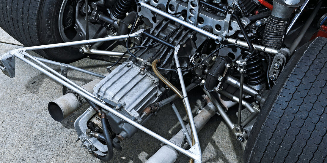 Alfa Romeo T33/3, Getriebe