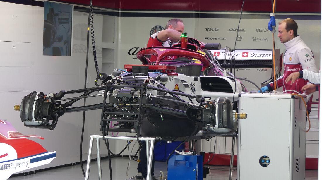 Alfa-Sauber - GP China - Shanghai - Formel 1 - Donnerstag - 11.4.2019