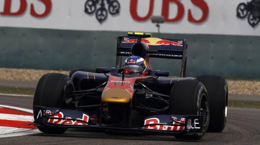 Alguersuari Formel 1 GP China 2011