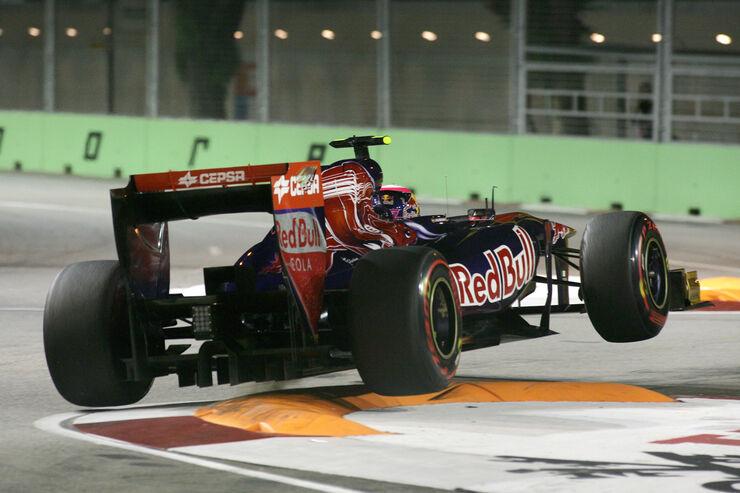 Alguersuari GP Singapur 2011