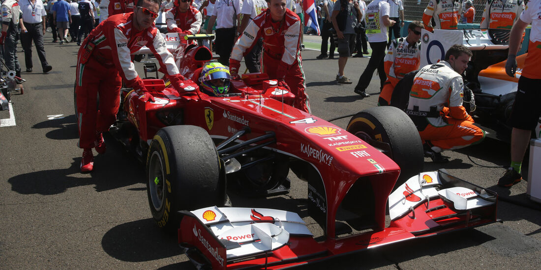 Alonso - GP Ungarn 2013