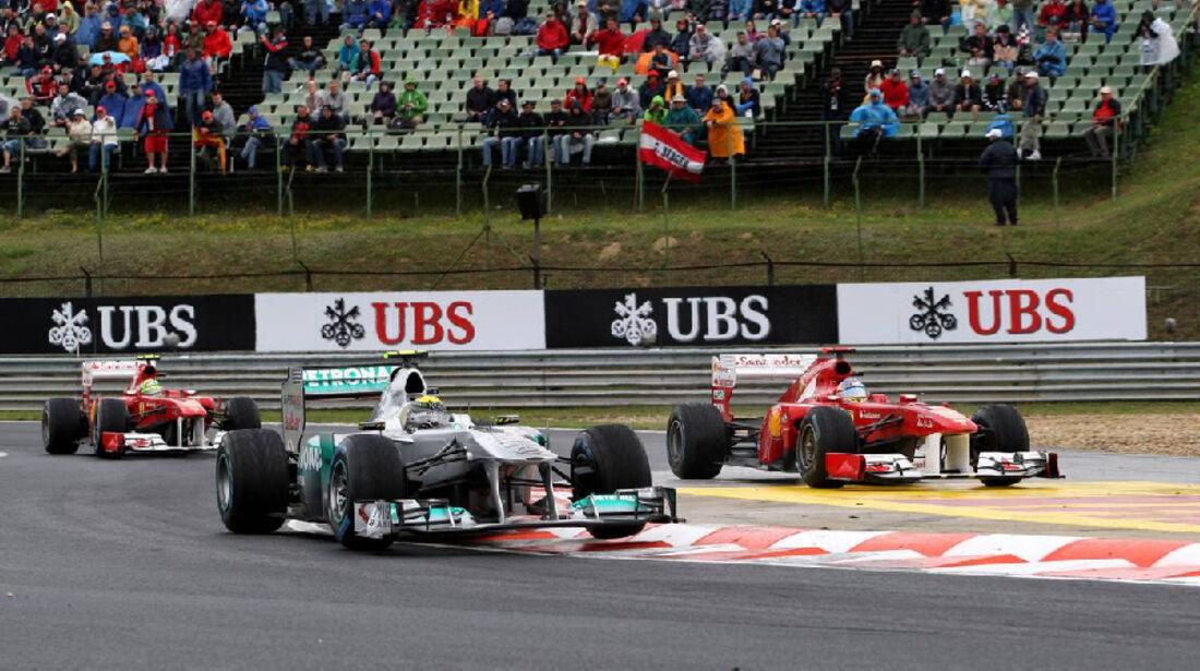 Alonso - GP Ungarn - Formel 1 - 31.7.2011 - Highlights