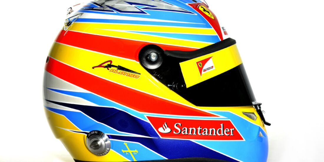 Alonso Helm 2011