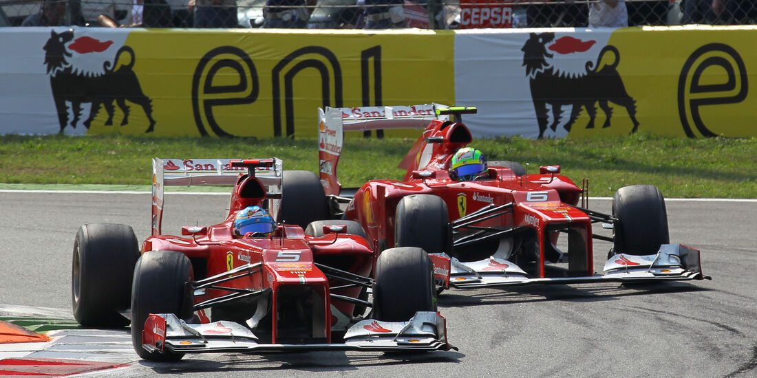 Alonso & Massa GP Italien 2012