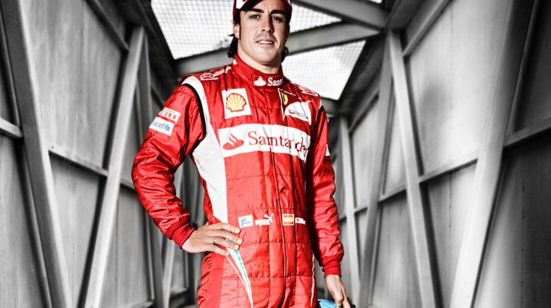 Alonso Porträt 2011