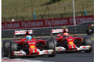 Alonso & Räikkönen - Ferrari - Formel 1 - GP Ungarn - 25. Juli 2014