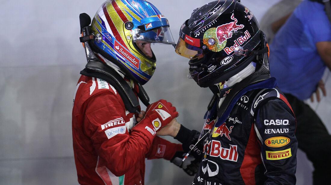 Alonso & Vettel - GP Singapur 2012