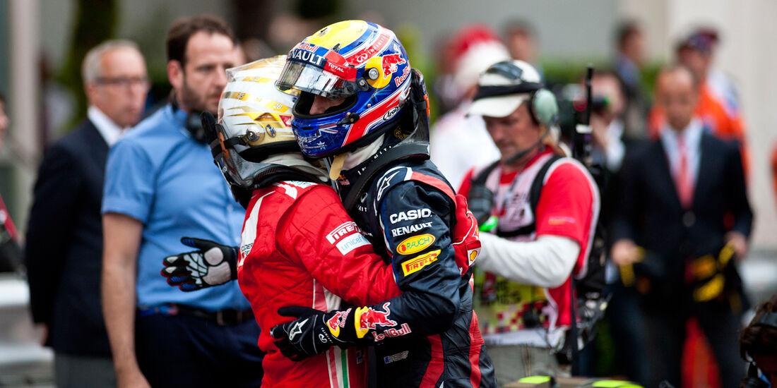 Alonso & Webber - GP Monaco 2012