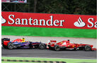 Alonso vs. Webber - Formel 1 - GP Italien 2013