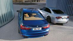 Alpina B7 Biturbo - Audi S8 Plus - Test