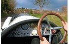Amilcar CS, Cockpit