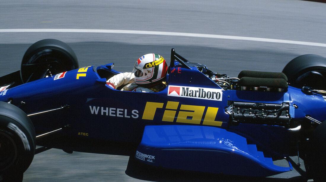 Andrea de Cesaris - GP Monaco 1988 - Rial