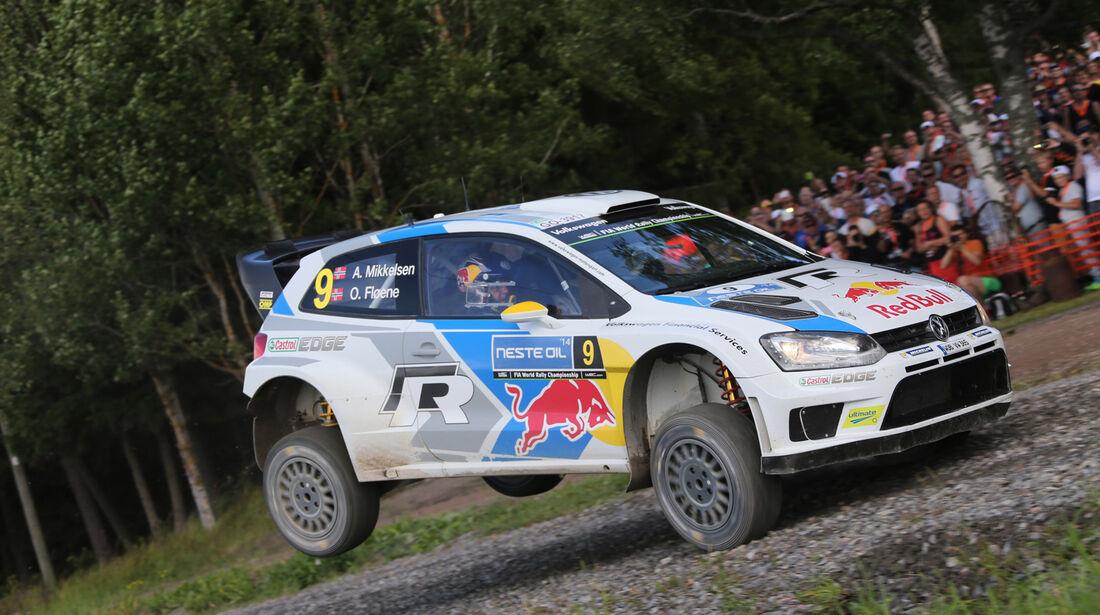 Andreas Mikkelsen - Rallye Finnland 2014 - Tag 3 - WRC - VW Polo R WRC