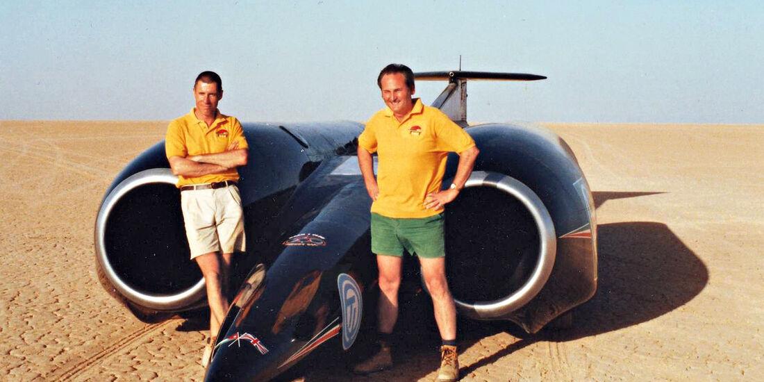 Andy Green, Bloodhound SSC, Raketenfahrzeug