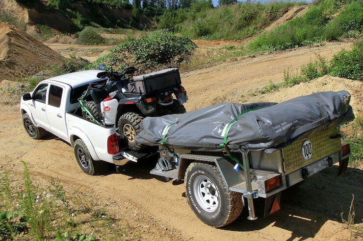 Projekt Anhänger-Zelt: Camp in der Box - auto motor und sport