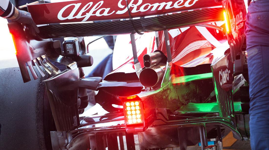 Antonio Giovinazzi - Alfa Romeo - Barcelona - F1-Test - 26. Februar 2019