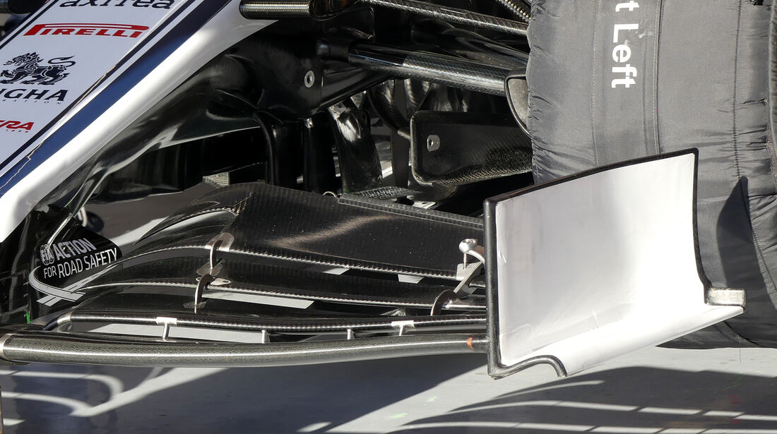 Antonio Giovinazzi - Alfa Romeo - Barcelona - F1-Test - 27. Februar 2019