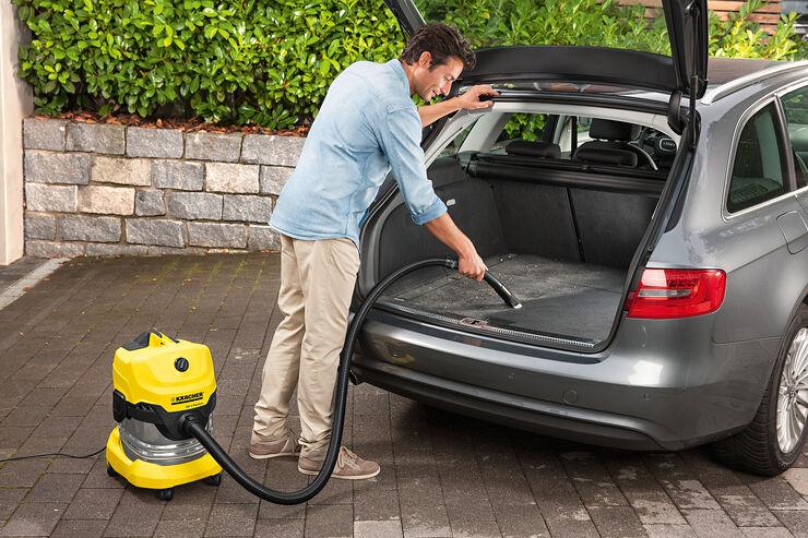 Fußboden Im Auto Reinigen ~ Anzeige kärcher mehrzwecksauger für die autoreinigung auto