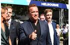 Arnold Schwarzenegger - GP Australien 2016