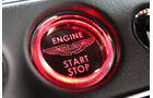 Aston Martin DB11, Startknopf