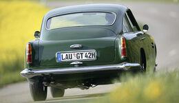 Aston Martin DB4 GT Heckansicht