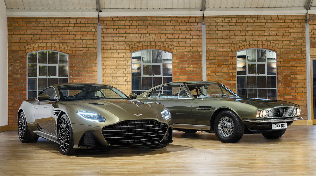 Aston Martin On Her Majesty's Secret Service DBS Superleggera