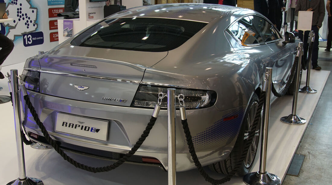 Aston Martin Rapide E Concept - Electric Vehicle Symposium 2017 - Stuttgart - Messe - EVS30