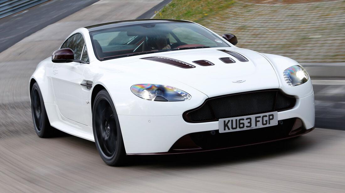Aston Martin V12 Vantage S, Frontansicht