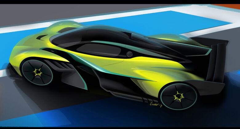 Aston Martin Valkyrie AMR Pro - Rennversion