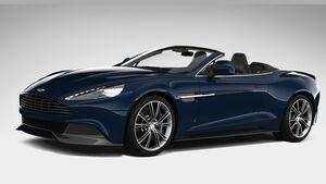 Aston Martin Vanquish Volante Marcus Neiman Edition